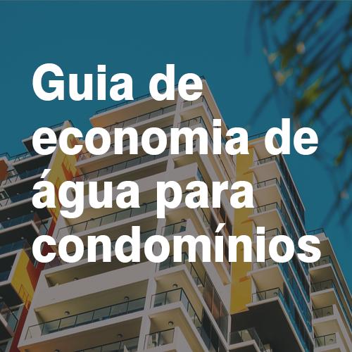 Guia de economia de água para condomínios